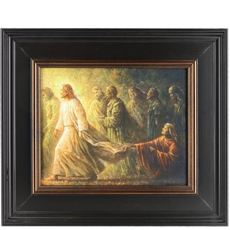 in framed artwork framed who touched me by yongsung 12 quot x 14 quot