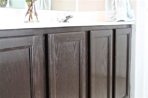 Tucker Up Diy Stained Cabinets Master Bathroom