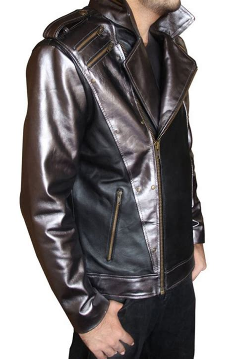 Quiksilver Qs Leather Date On Black White evan peters jacket quicksilver leather jacket
