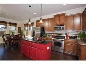 Red Kitchen Islands red kitchen island home pinterest