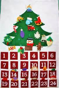 Christma Tree Shop - felt advent calendar christmas countdown by kennasfeltforest