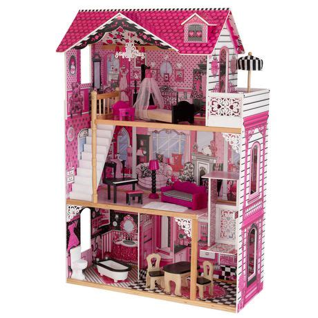 doll houses walmart kidkraft amelia dollhouse walmart canada