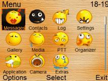 ownskin themes nokia asha 210 smiley icons theme mobile themes for nokia asha 210