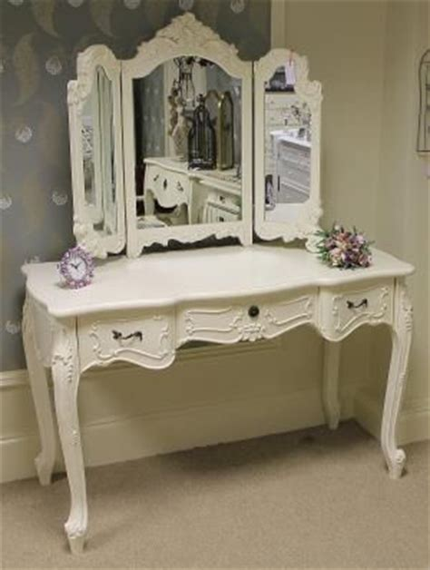 Ornate Vanity Table Large Ornate Dressing Table Mirror Shabby Chic Louis Style Bedroom Ebay