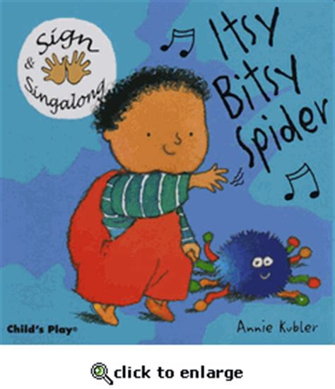 the itsy bitsy spider sing along with me books autism sign language flashcards workbooks dvds