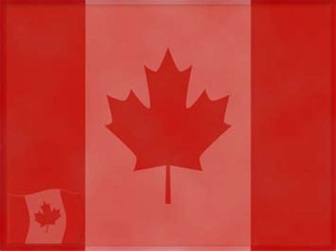 Canada Flag 02 Powerpoint Templates Canada Powerpoint Template