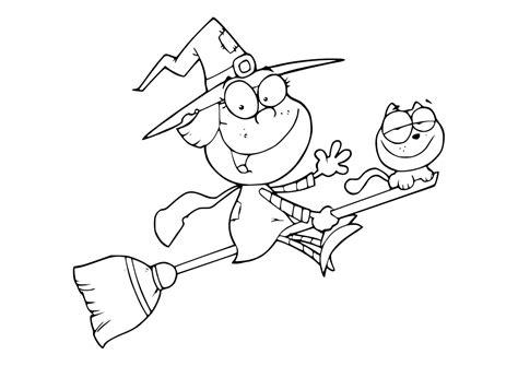 imagenes de brujas faciles para dibujar dibujos para colorear pintar imprimir dibujos
