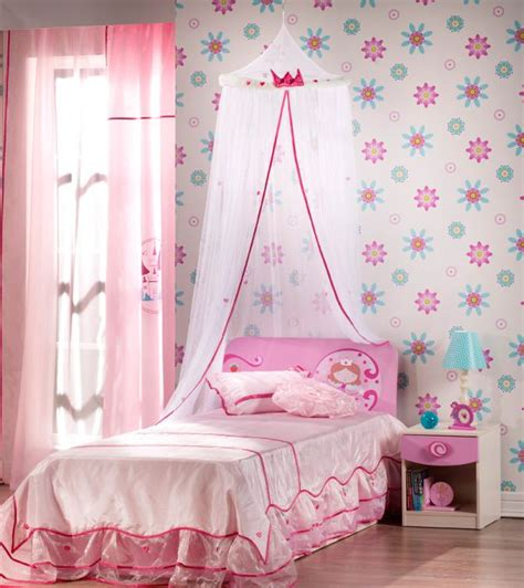 little girl wallpaper for bedroom stylish girls pink bedrooms ideas