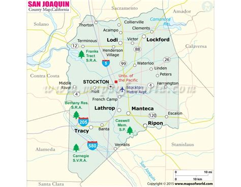 San Joaquin Search Buy San Joaquin County Map