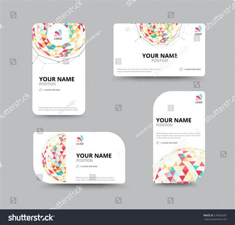 microsoft publisher 2003 business card templates business geometry low polygon on white background