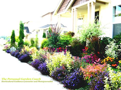 Front Yard Flower Garden Flower Bed Ideas For Front Of House Back Front Yard Landscaping Goodhomez