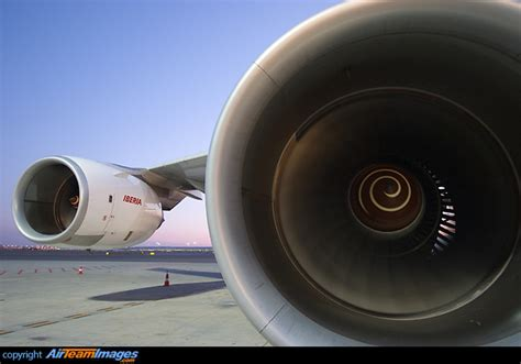 Rolls Royce Trent 500 Rolls Royce Trent 500 Engine Ec Jcz Aircraft Pictures