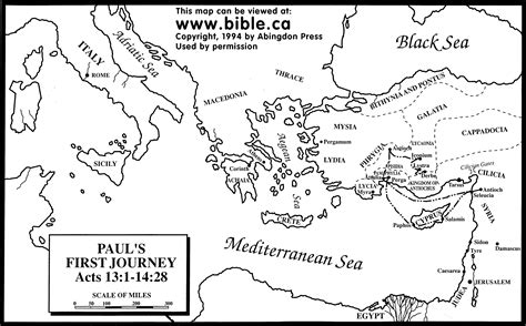 Pauls Journeys Outline by Free Coloring Pages Of Paul Journey