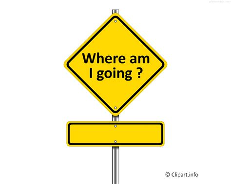 what of am i sign where am i going png transparent clipart min