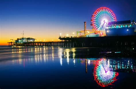 Home Decorating Pinterest by Santa Monica Pier Santa Monica Ca Sunset