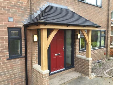 green oak porch  stramshall    modern style