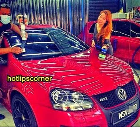 kereta bmw biru 8 gambar kereta kesayangan milik pekin ibrahim hotlips