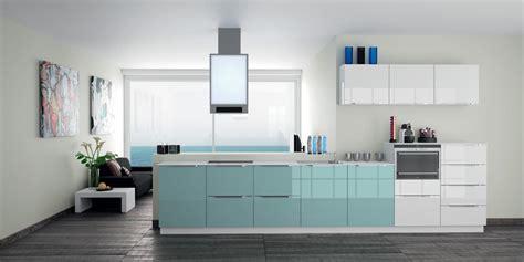 cuisine bleu ciel photos cuisine blanche grise