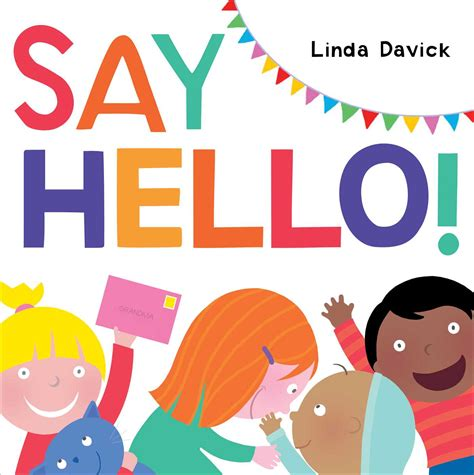 say hello book by davick official publisher