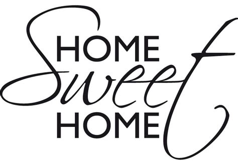 wall stickers home sweet home 1 wall