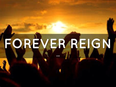forever reign forever reign by jeka santos
