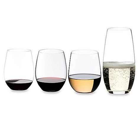 bed bath and beyond glasses riedel 174 o stemless wine glass collection bed bath beyond