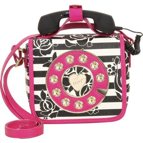 Betsey Johnson Must Haves by Betsey Johnson Kitsch Must Mini Phone Crossbody Handbag