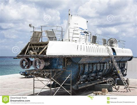 tow boat on dry dock submarine dry dock stock image image 32924801
