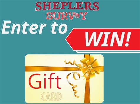 Sheplers Gift Card - tell sheplers feedback in survey to win 250 gift card sweepstakesbible