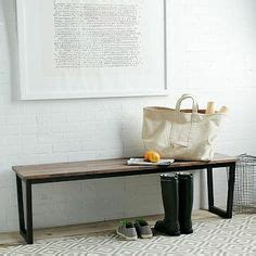 oblique bench oblique bench solid walnut top in a distressed finish