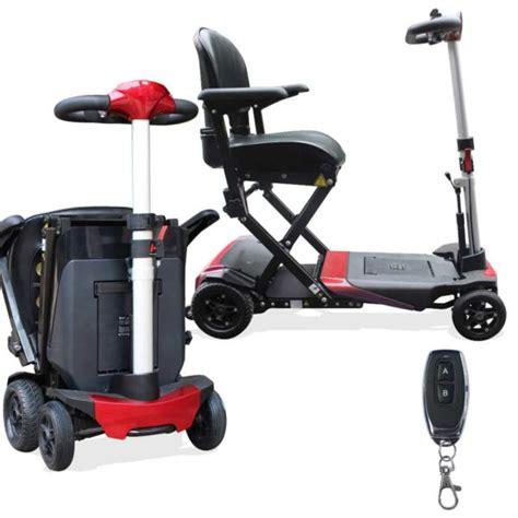porta scooter per auto solax auto fold automatic folding travel mobility scooter