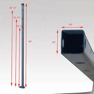 Coleman 10x10 Canopy Parts by Coleman 10 X 10 Canopy Gazebo Inner Leg Lower Part