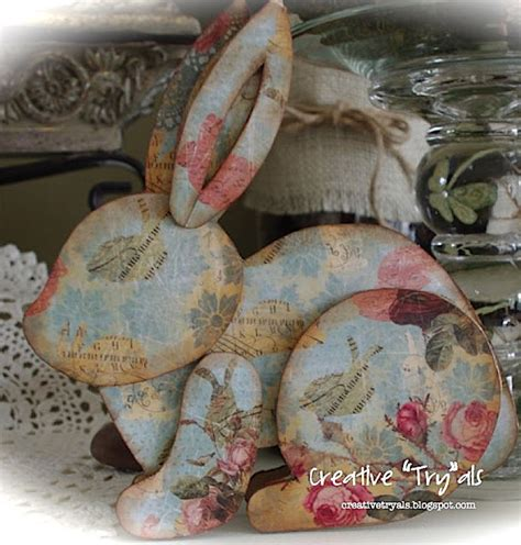 How To Make Paper Mache Ls - creative quot try quot als make your own decoupage cardboard