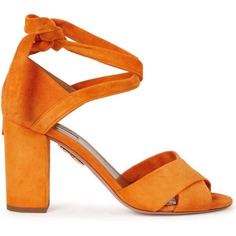 orange strappy sandals 17 best ideas about orange strappy high heels on