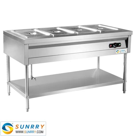 Stainless Steel Warming Shelf by Sy Bm2200s Warming Bain With Shelf 6 Pans All
