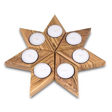 candele tealight the set is made up of seven shaped tealight