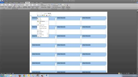 printing mailing labels with excel 2010 how to print file folder labels from excel 2010 label