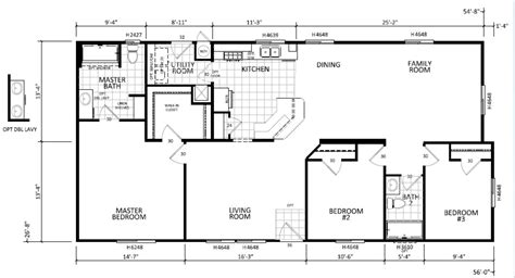 skyline manufactured homes floor plans 3408 ma williams