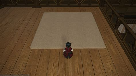 carbuncle rug ffxiv eorzea database combed wool rug xiv the