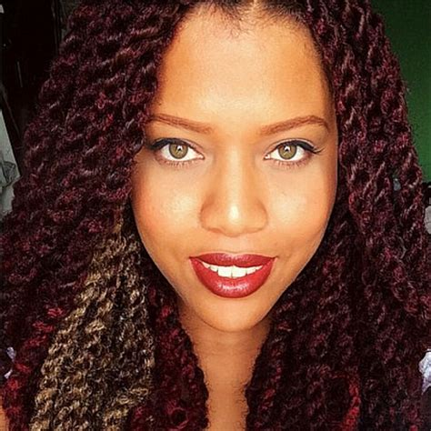 different color marley twists protective styling season marley twists