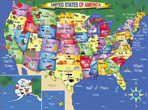 united states map puzzle states and capitals http www whitemountainpuzzles images 1021 usa map