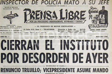 hemeroteca buscar noticias los tiempos 1960 esto pasaba en guatemala