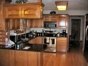 Kitchen Colors With Oak Cabinets And Black Countertops Oak Kitchen Cabinets File Name Kitchen Colors With Oak Cabinets And Black Countertops