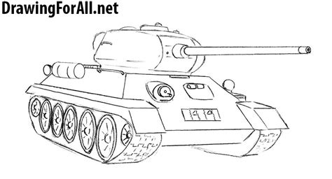 one t draw tank drawing www pixshark images galleries with a