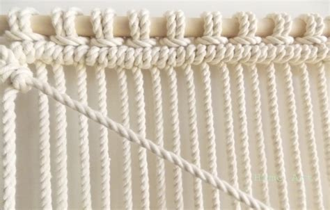 How To Macrome - diy macrame wall hanging a pair a spare bloglovin