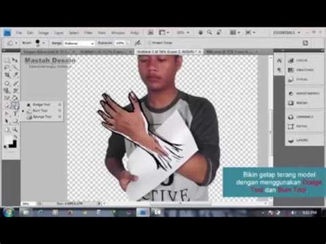 tutorial adobe photoshop manipulasi foto tutorial photoshop manipulasi kertas karet youtube