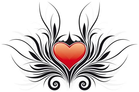 heart tattoo clipart best