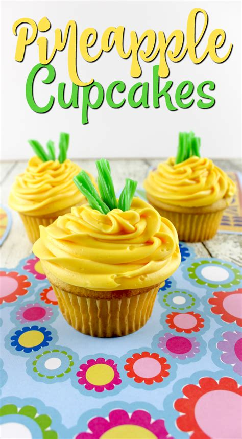 Pineapple I Mommyi pineapple cupcakes the mix