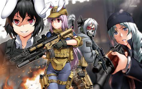 anime wallpaper hd gun guns and girls 2015 wallpaper wallpapersafari