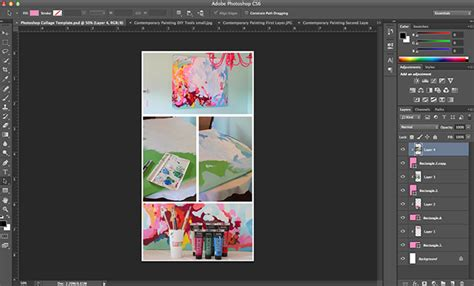 How To Create A Photoshop Image Template And Free Downloads Page 2 Of 2 The Girl Creative How To Create A Template In Photoshop